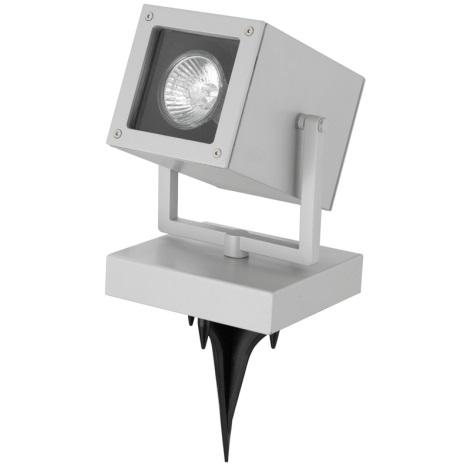 EGLO 88574 - Venkovní bodová lampa TABO 1 1xGU10/50W stříbrná