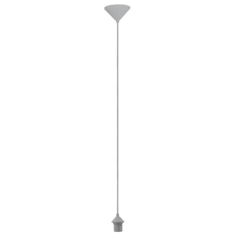 EGLO 88686 - Napájecí kabel 1xE27/60W šedý