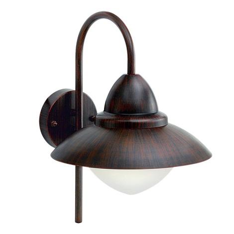 EGLO 88709 - Venkovní nástěnné svítidlo SIDNEY 1xE27/60W + LED žárovka ZDARMA