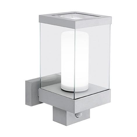 EGLO 88768 - Venkovní nástěnné svítidlo DOWNTOWN se senzorem pohybu 1xE27/60W