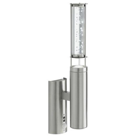 EGLO 88777 - Venkovní senzorové svítidlo s čidlem TALIN 2xGU10/9W
