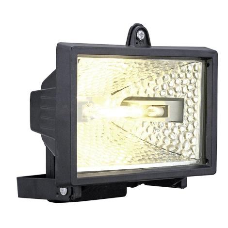 EGLO 88812 - Venkovní reflektor ALEGA 1xR7s/400W černá