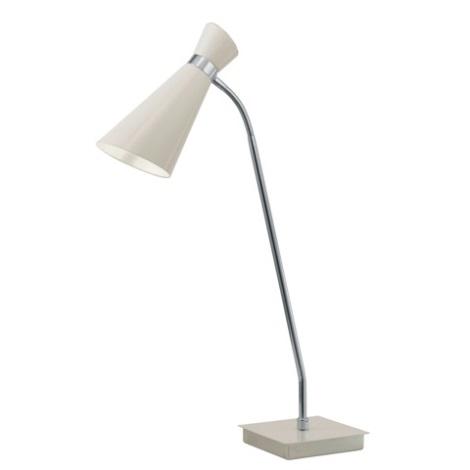 EGLO 88817 - Stolní lampa FIDO 1xE27/60W krémově bílá