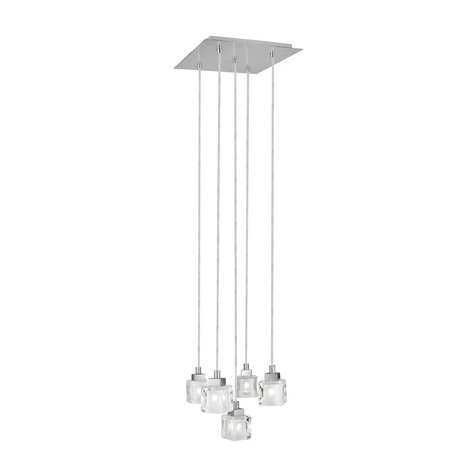 EGLO 88876 - Závěsné svítidlo TANGA 1 5xG9/40W