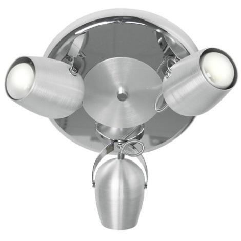 EGLO 88906 - Bodové svítidlo AGO 3xE27/60W