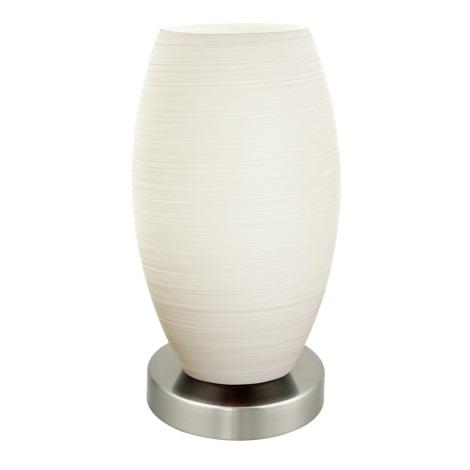 EGLO 88957 - Stolní lampa BATISTA 1 1xE27/11W bílá / matná