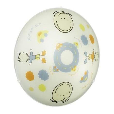 EGLO 88972 - Dětské stropní svítidlo JUNIOR 2  2xE27/60W barevné