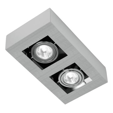 EGLO 89076 - Bodové svítidlo LOKE 2xGU10/35W