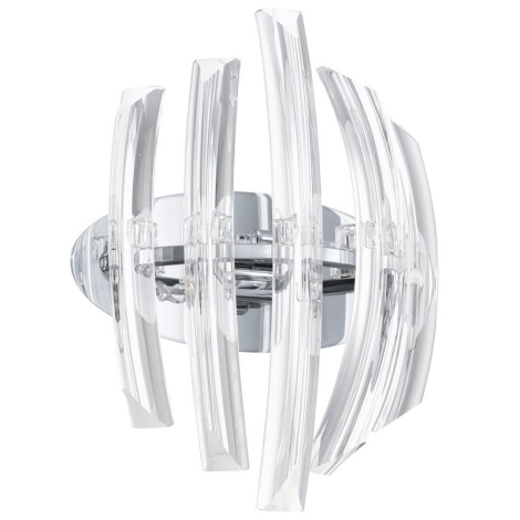 EGLO 89206 - Nástěnné svítidlo DRIFTER 2xG9/40W Křišťál