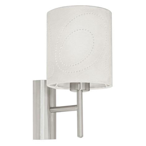 EGLO 89215 - Nástěnné svítidlo INDO 1 x E27/60W béžová