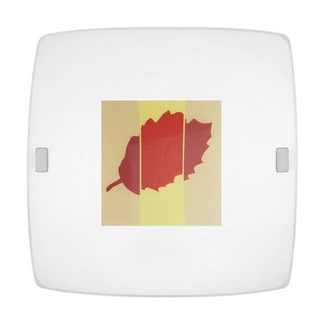 EGLO 89245 - Stropní svítidlo MILLA 3 1xE27/60W list
