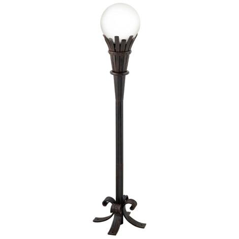 EGLO 89297 - Lampa venkovní IP44 TORRE 1xE27/60W opálové sklo
