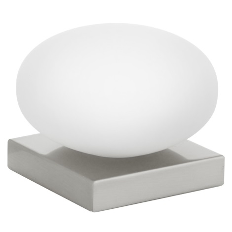 EGLO 89322 - Stolní lampa ETOO 1xE14/40W bílé opálové sklo