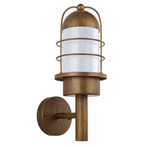 EGLO 89533 - Venkovní nástěnné svítidlo MINORCA 1xE27/60W měď