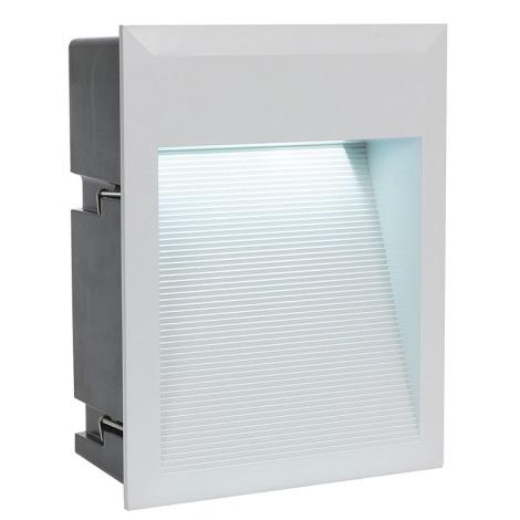 EGLO 89544 - LED Venkovní svítidlo ZIMBA LED 1xLED/1,69W stříbrná