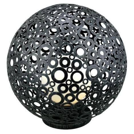 EGLO 89565 - Venkovní lampa FERROTERRA stříbrnočerná patina