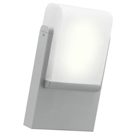 EGLO 89576 - Venkovní nástěnné svítidlo CARACAS 1xE27/22W stříbrná