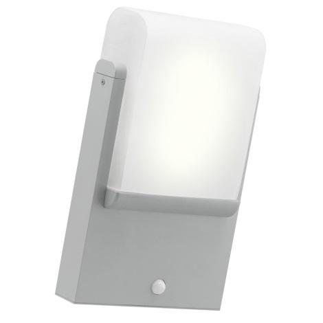 Eglo 89577 - Venkovní nástěnné svítidlo se senzorem CARACAS 1xE27/22W/230V