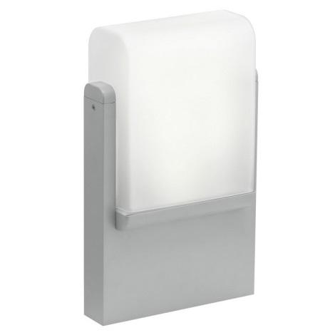 EGLO 89578 - Venkovní lampička CARACAS 1xE27/22W stříbrná