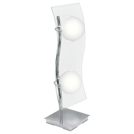 EGLO 89596 - Stmívatelná stolní lampa LAYER 2xG9/40W