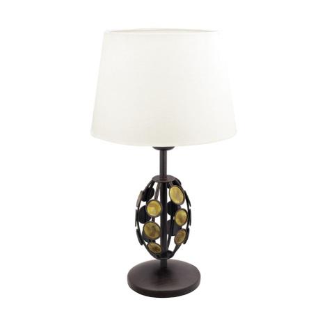 EGLO 89643 - Stolní lampa KRETA 1xE27/60W/230V