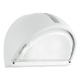 EGLO 89768 - Venkovní nástěnné svítidlo ONJA 1xE27/60W bílá IP44