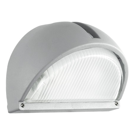 EGLO 89769 - Venkovní nástěnné svítidlo ONJA 1xE27/60W stříbrná