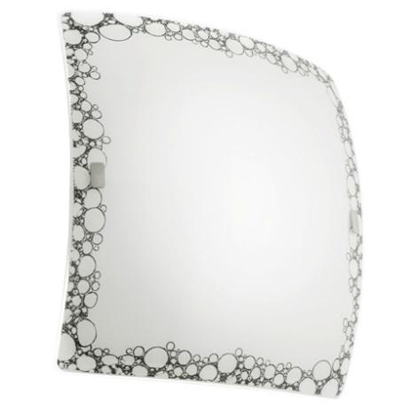 EGLO 89874 - Nástěnné stropní svítidlo MILLA 2xE27/60W černá / bílá