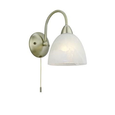 Eglo 89895 - Nástěnné svítidlo s vypínačem DIONIS E14/40W/230V