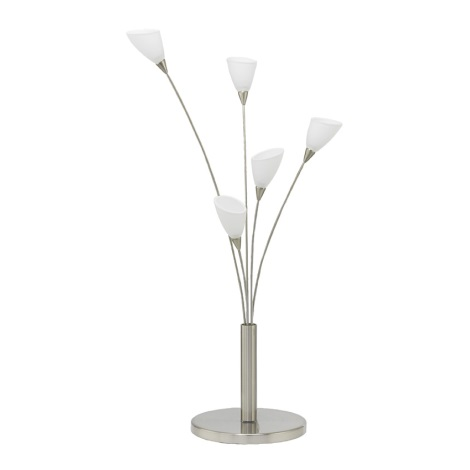 EGLO 89985 - Stolní lampa YVETTE 5xG4/20W