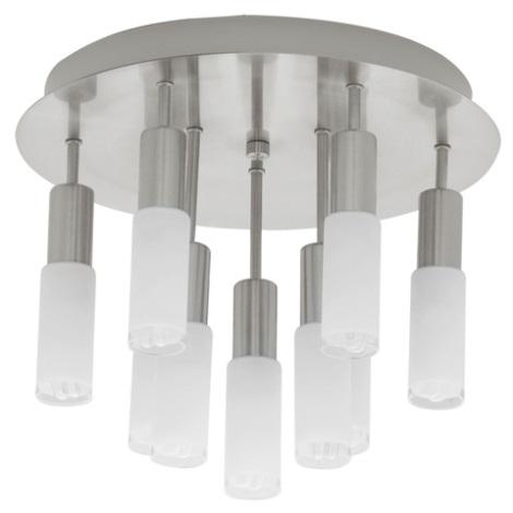 EGLO 90031 - Stropní svítidlo SAMANTA 9xE14/9W bílá