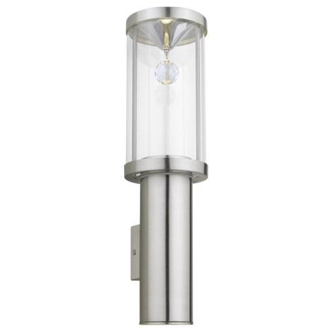 EGLO 90108 - Venkovní nástěnné svítidlo TRONO CRYSTAL