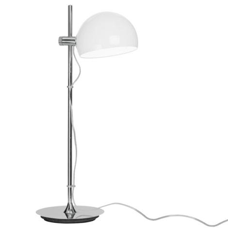 EGLO 90128 - Stolní lampa BO 1xE27/60W bílá