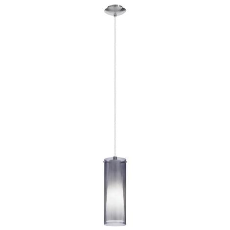 EGLO 90304 - Lustr závěsný PINTO NERO 1 x E27/60W kouřová
