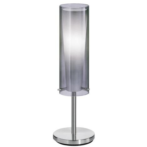 EGLO 90308 - Stolní lampa PINTO NERO 1 x E27/60W kouřová
