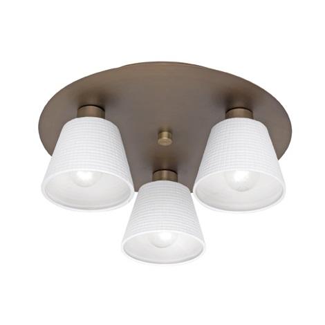 EGLO 90333 - Stropní svítidlo FOSSANO 3xE14/40W