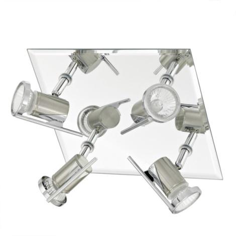 EGLO 90687 - Koupelnové bodové svítidlo TAMARA 4xGU10/35W