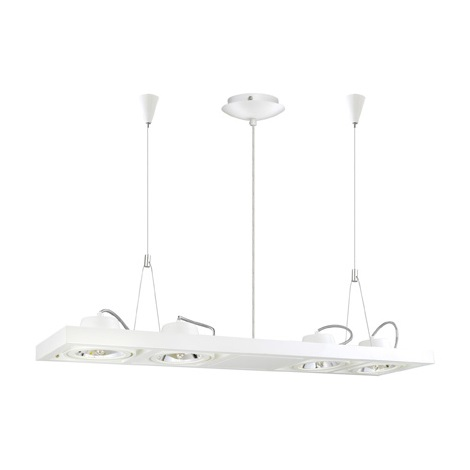 EGLO 90699 - Závěsné svítidlo VECTUS 4xQR111/50W