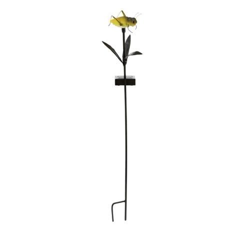 EGLO 90706 - Solární lampa kobylka 1xLED/0,024W žlutá