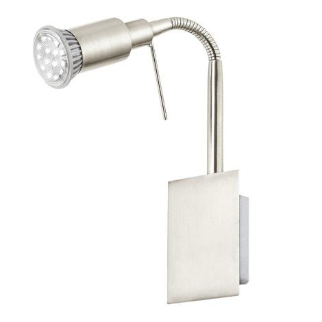 EGLO 90823 - Nástěnná lampička ERIDAN 1xGU10/LED/3W