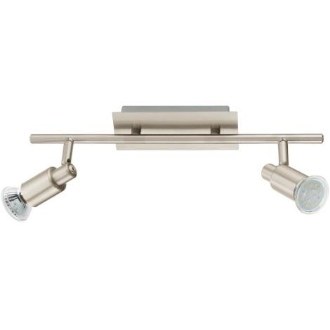 EGLO 90824 - Nástěnné stropní svítidlo ERIDAN 2xGU10/LED/3W