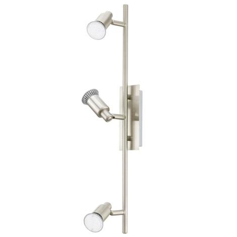 EGLO 90825 - Nástěnné stropní svítidlo ERIDAN 3xGU10/LED/3W