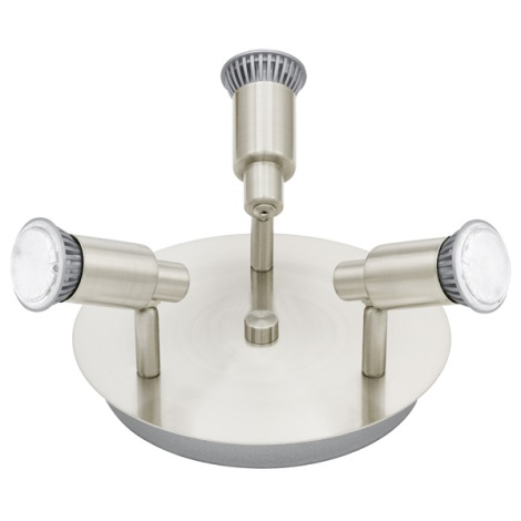 EGLO 90828 - LED bodové svítidlo ERIDAN 3xGU10/5W