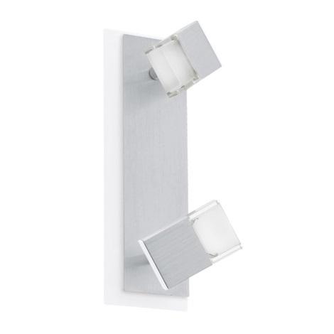 EGLO 90863 - LED Nástěnné stropní svítidlo GEMINI 2xLED/4,76W