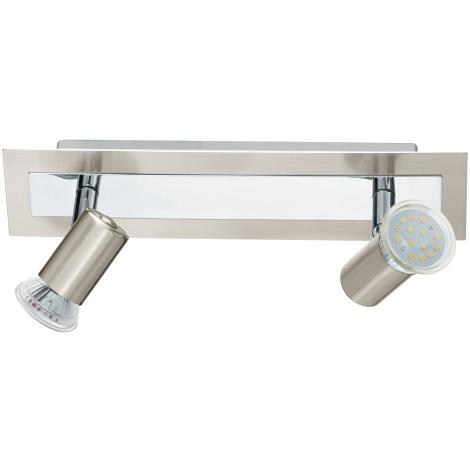 EGLO 90915 - Nástěnné stropní svítidlo ROTTELO 2xGU10/LED/3W