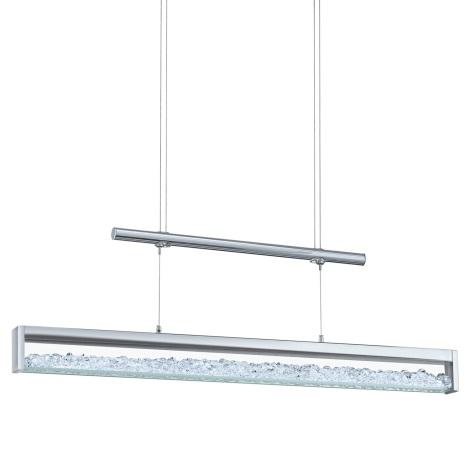 EGLO 90928 - LED Křišťálové závěsné svítidlo CARDITO LED/24W/230V