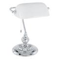 Eglo 90968 - Stolní lampa  BANKER E27/60W