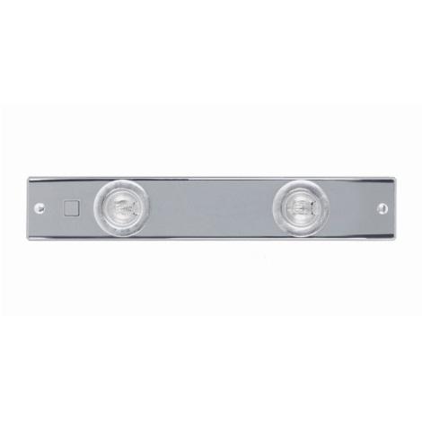 EGLO 91027 - Bodové kuchyňské svítidlo EXTEND 2 2xG4/20W chrom