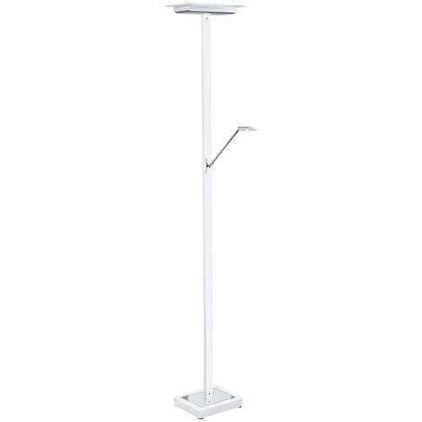 EGLO 91057 - LED Stmívatelná stojací lampa LACERTA 1 6xLED/4,76W bílá