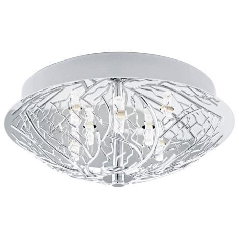 EGLO 91085 - Stropní svítidlo CROMER 8xG9/18W